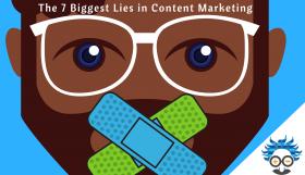 content marketing lies