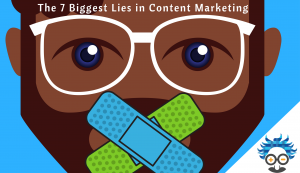 content marketing lies