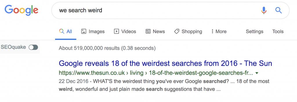 written vs voice search