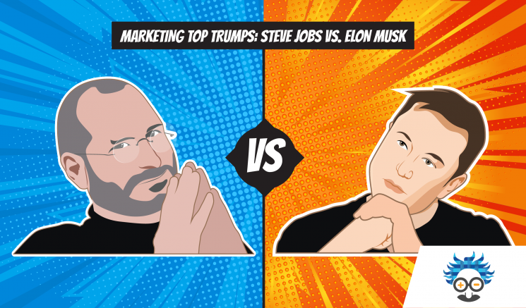 Steve jobs Elon musk marketing top trumps