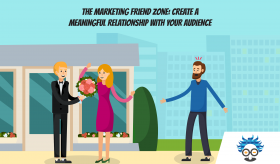 content marketing friend zone