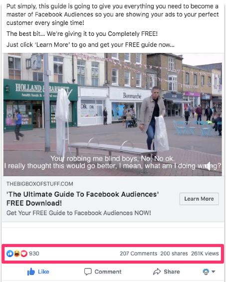 facebook organic reach engagement