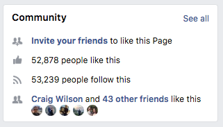 facebook page likes reach