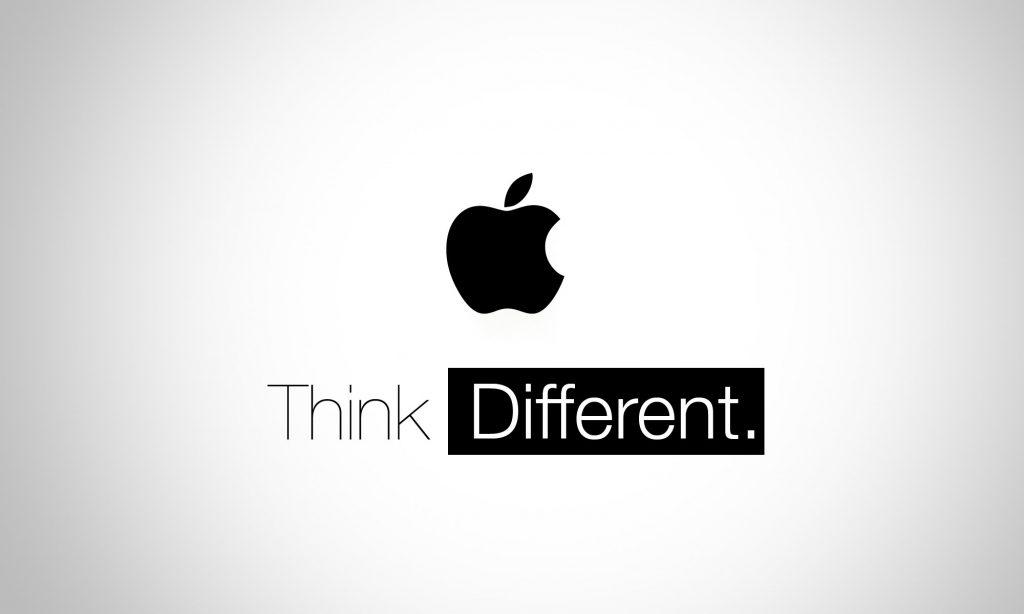 cult brand apple slogan