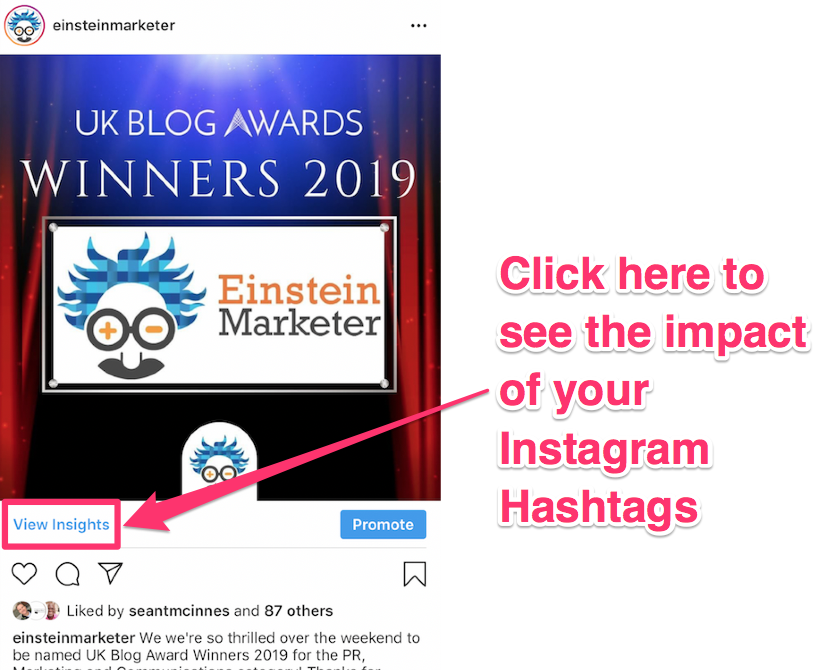 instagram hashtag analytics