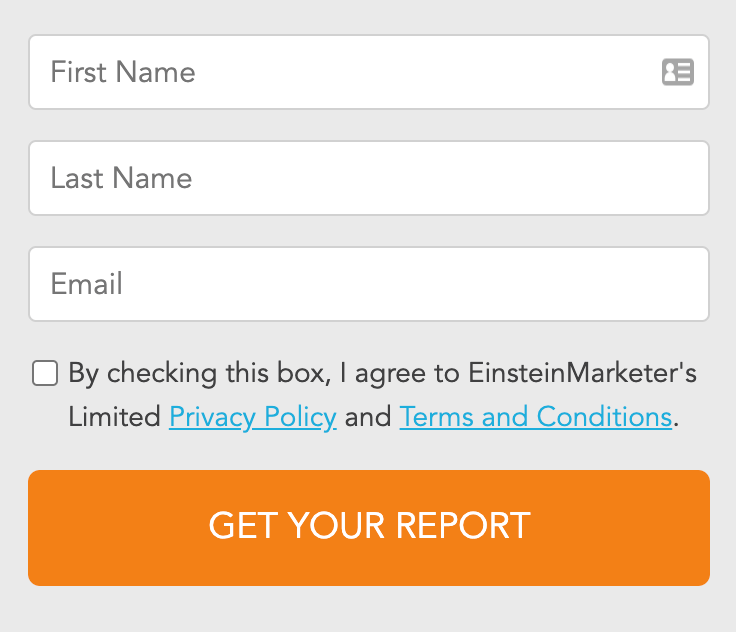 email form lead magnet