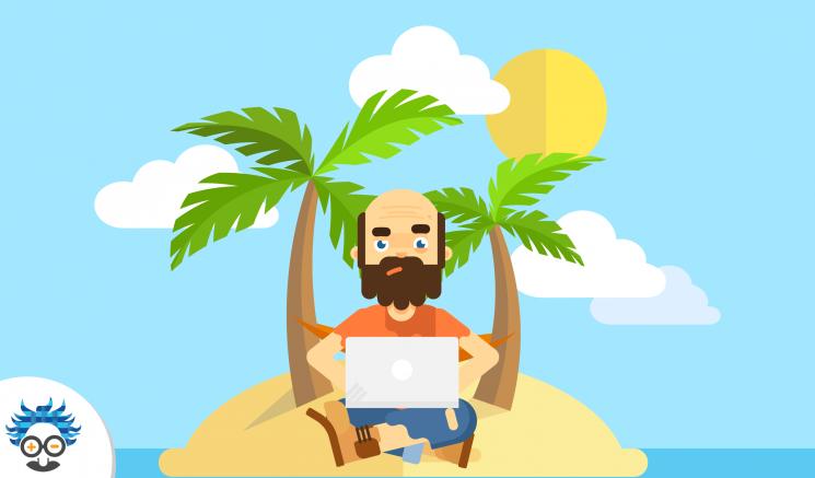 digital desert island