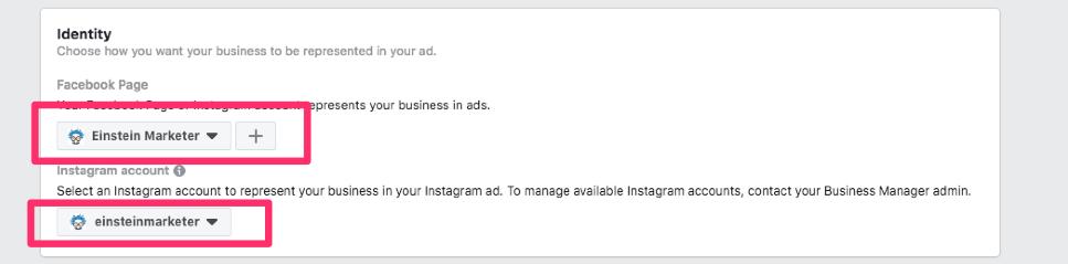 facebook ad page