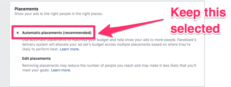 facebook local ads location targeting