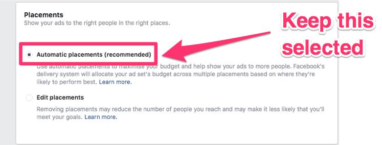 facebook ads local businesses