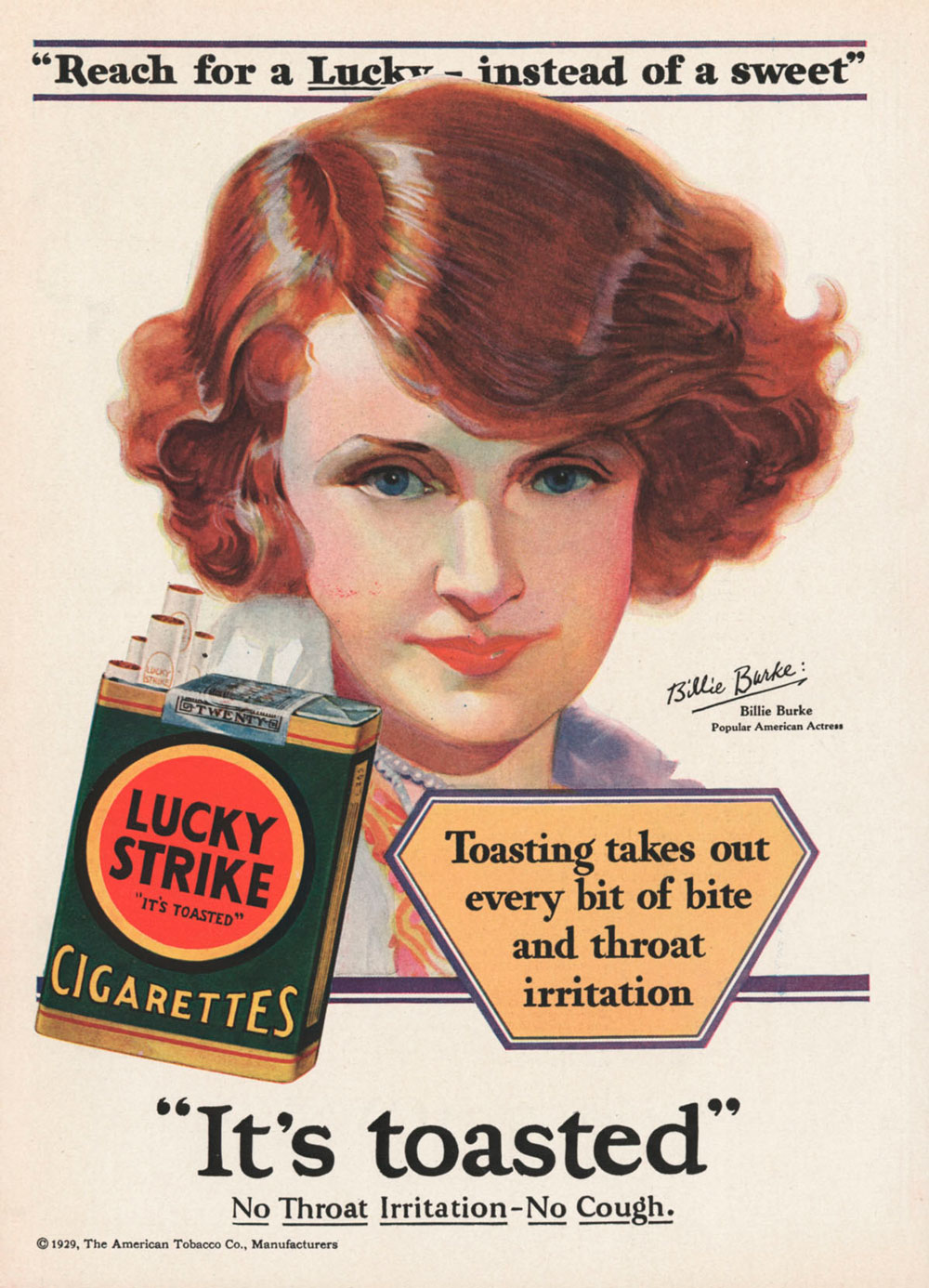 what can advertisers learn lucky strike it's toasted