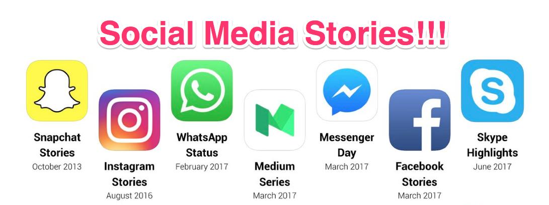 digital marketing trends 2019 social media stories