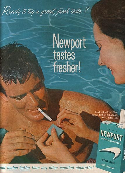 what can advertisers learn newport tastes fresher