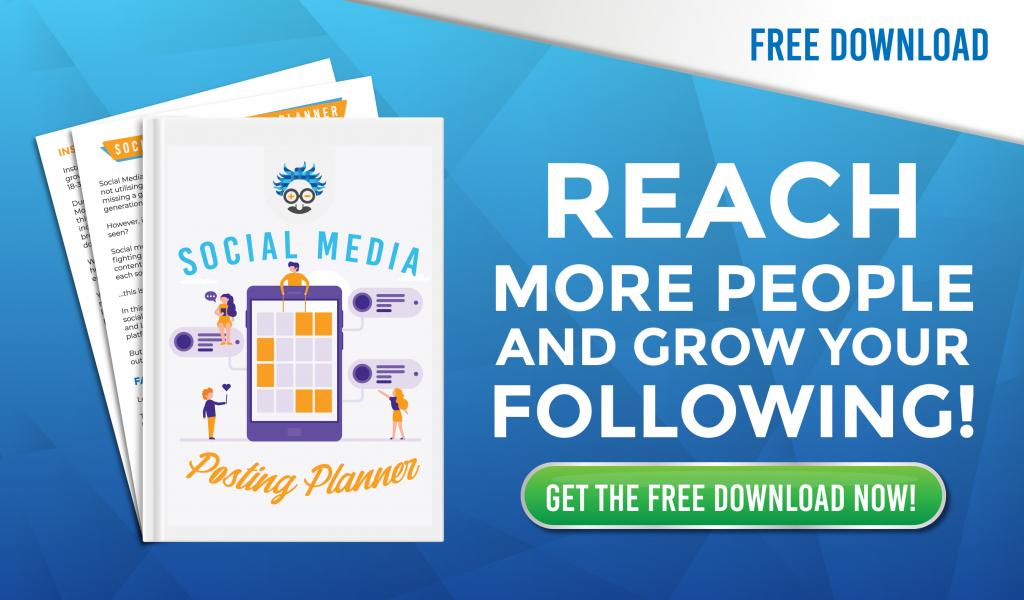 social media posting planner