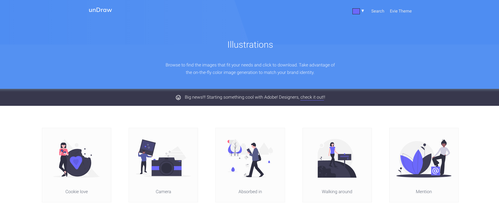 undraw free illustrations