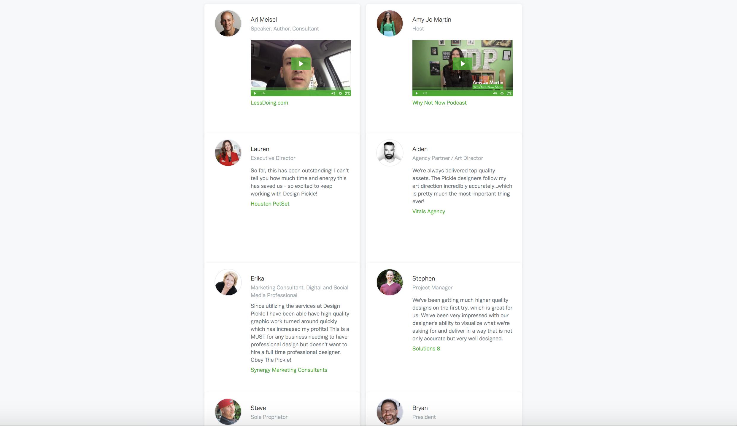 design pickle customer stories
