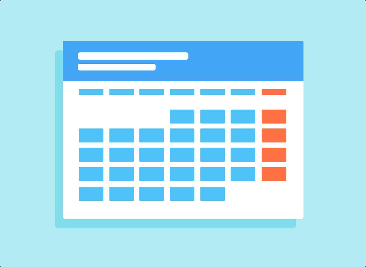 content calendar marketers