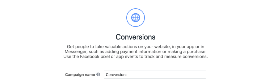 conversions campaign too soon