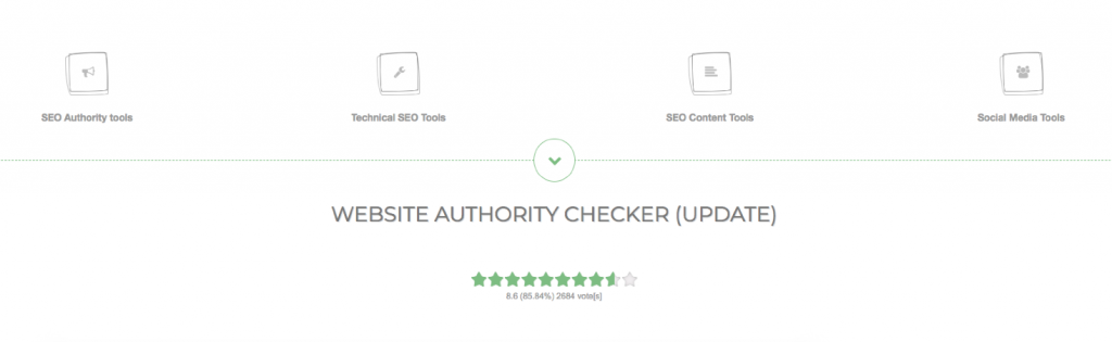domain authority check