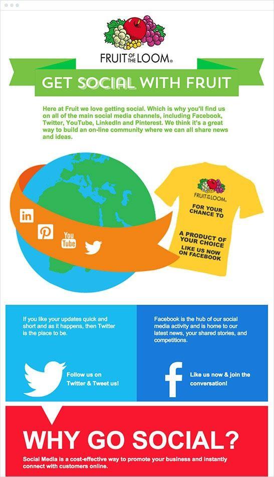 Médias sociaux et email