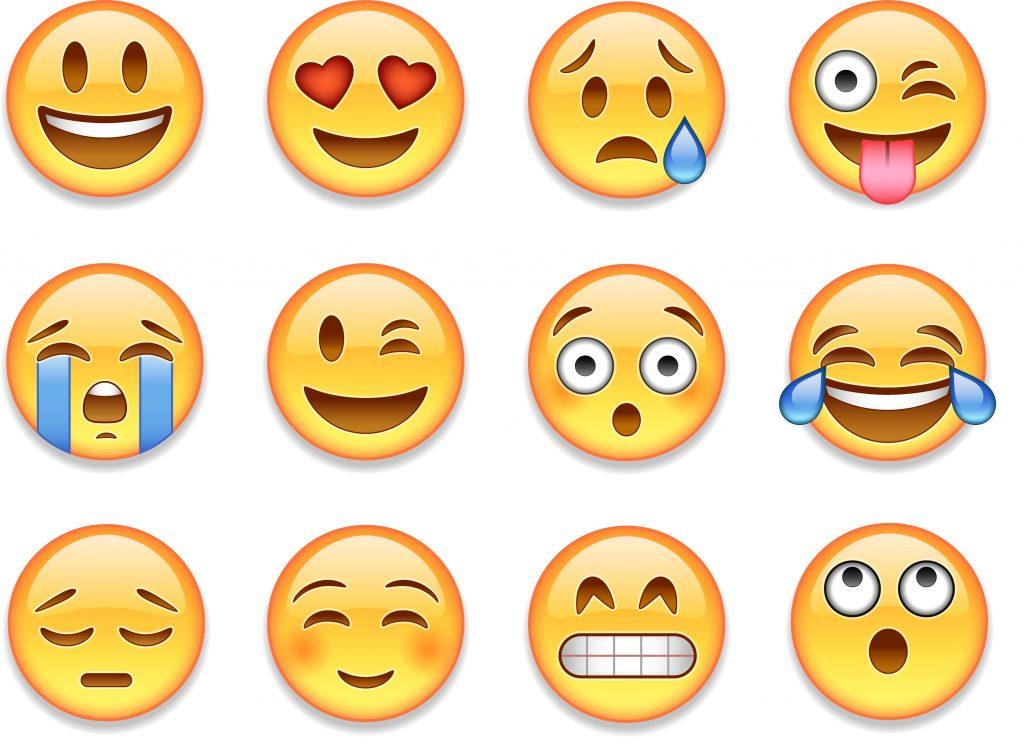 emojis in content