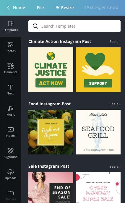 canva free marketing tool
