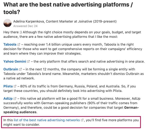 quora for digital marketing