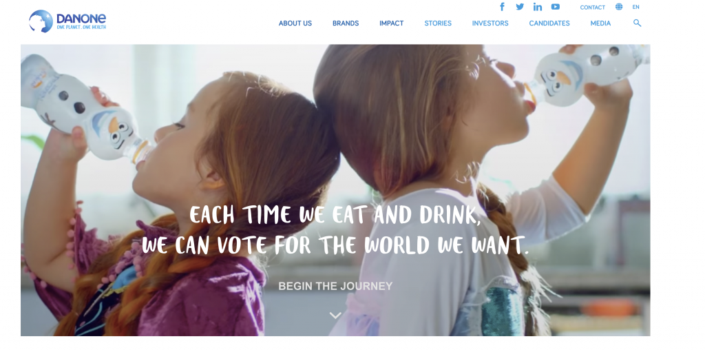 danone societal marketing