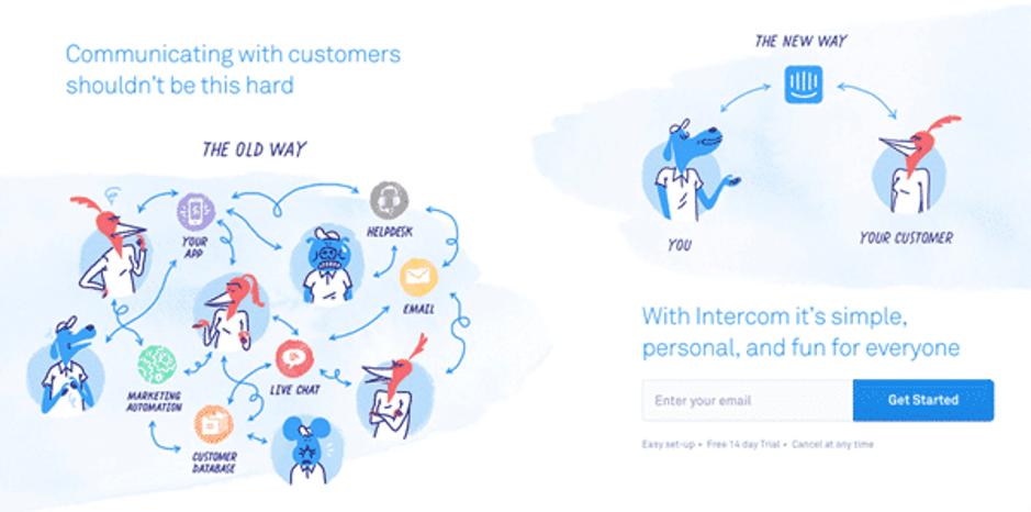 intercom emotional storytelling marketing