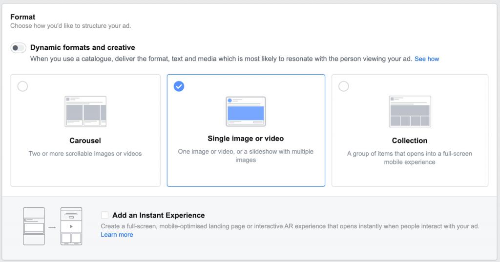 facebook ad creatives lead gen