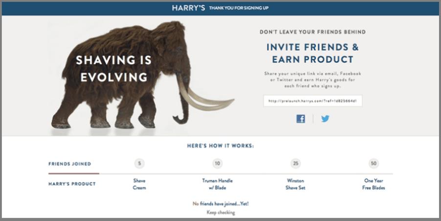growth hacking marketing harrys