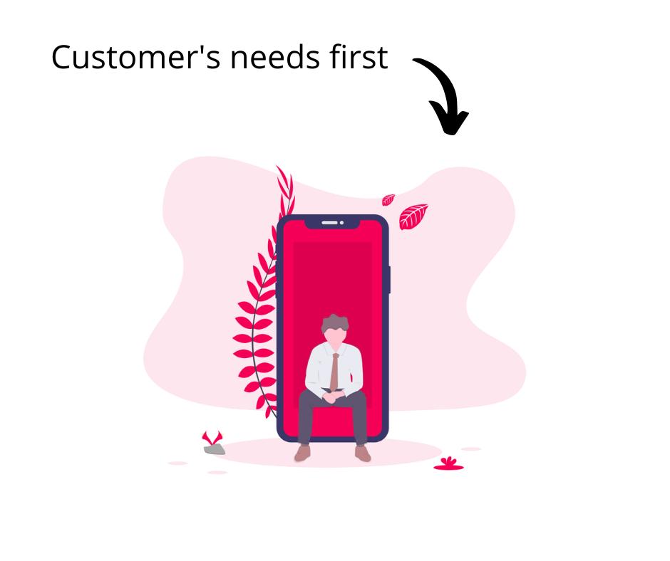 marketing community customer first
