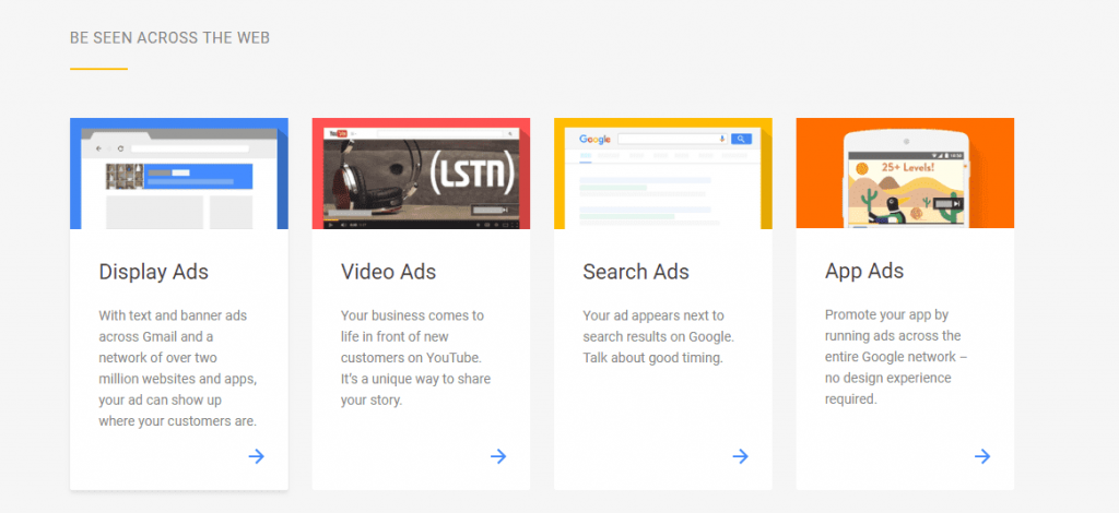 google display network ads