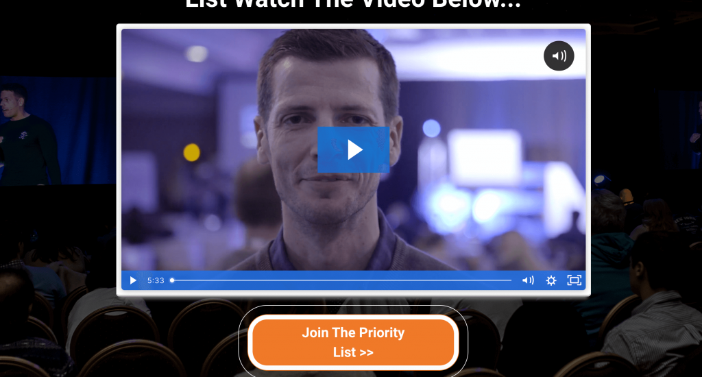 video landing pages