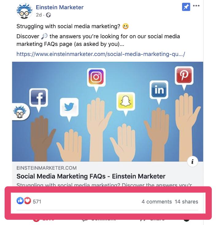 content engagement facebook