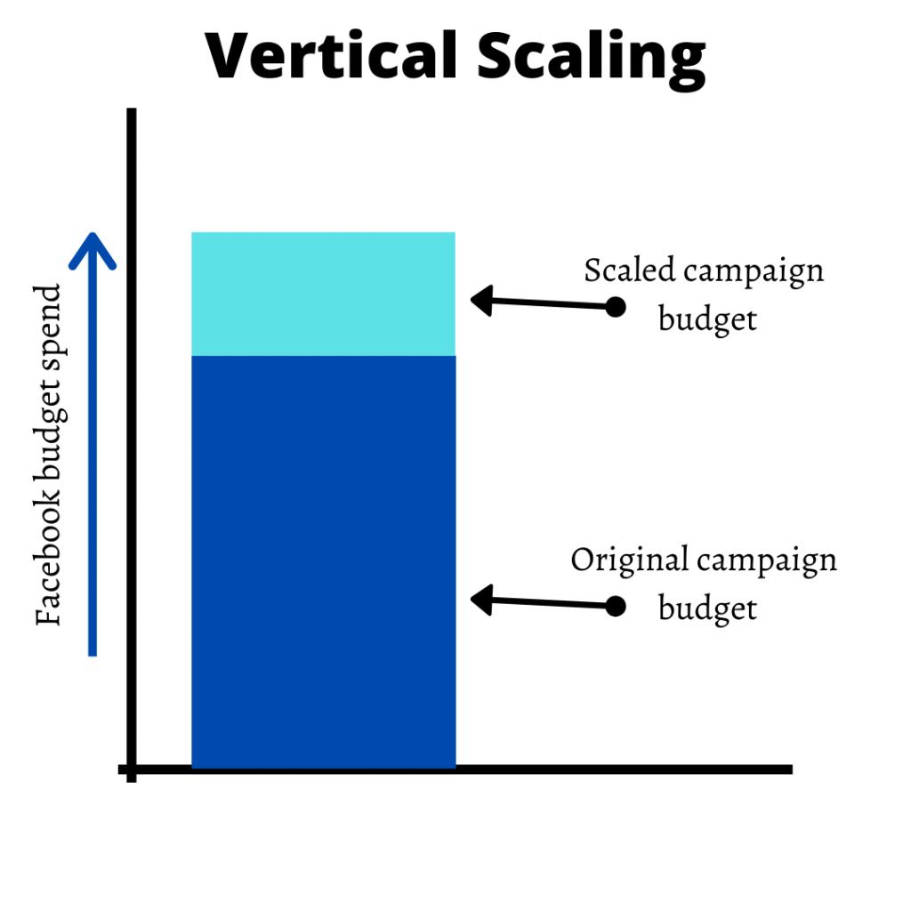 vertical scaling facebook ad campaign