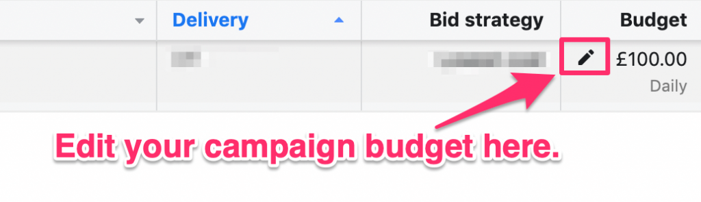vertical scaling campaign budget