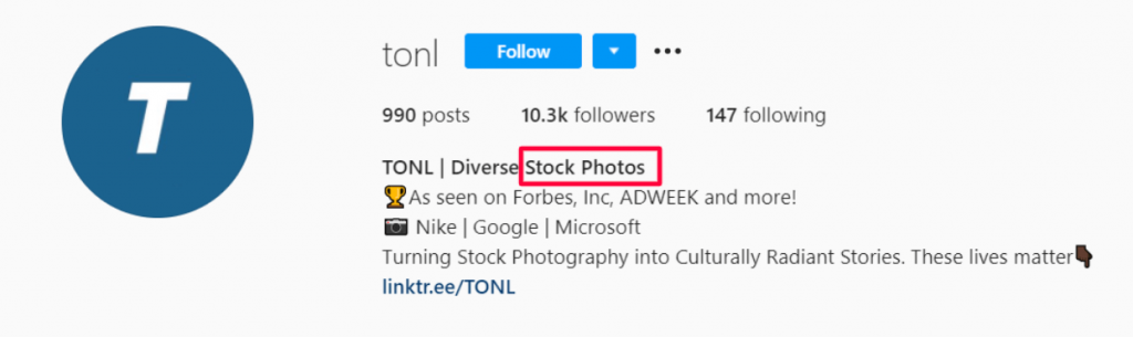 instagram search algorithm profile keywords