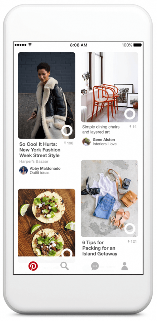 pinterest lens visual search