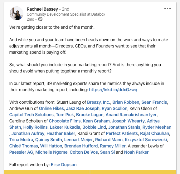 content promotion email