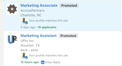 job ads linkedin