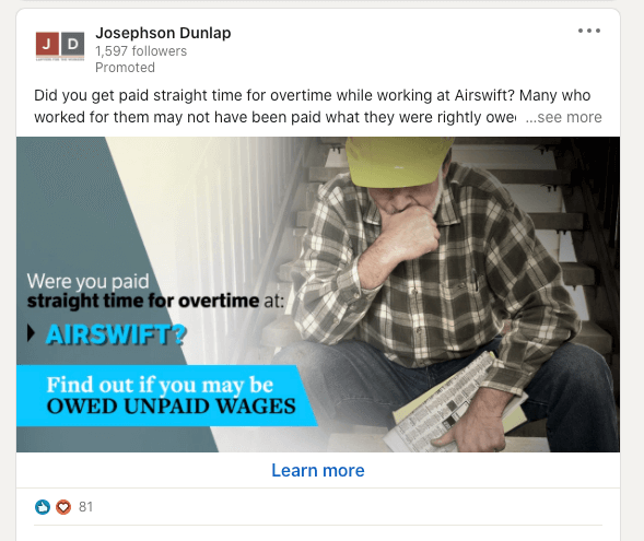 single image ads linkedin