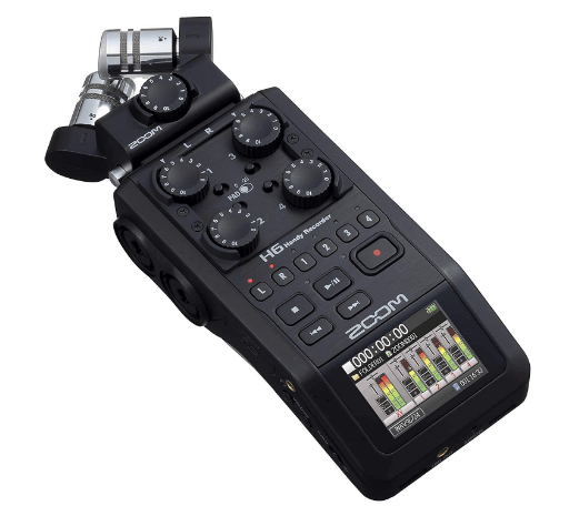 podcast equipment zoom h6