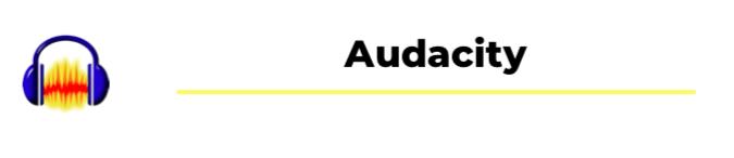 audacity podcast equipment