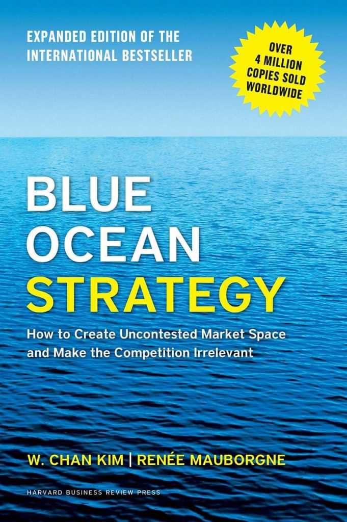 blue ocean strategy marketing books