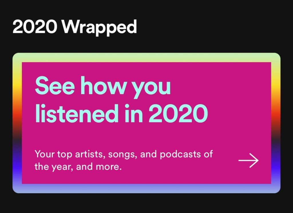 spotify wrapped shareable content