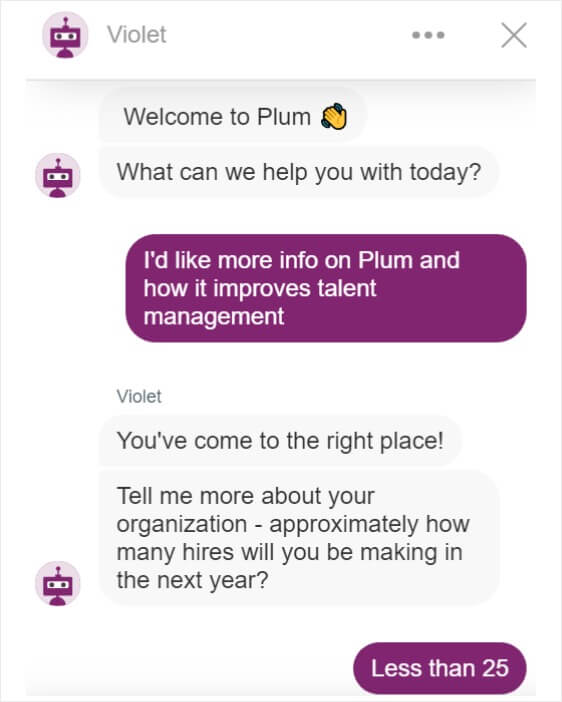 automated conversations in marketing