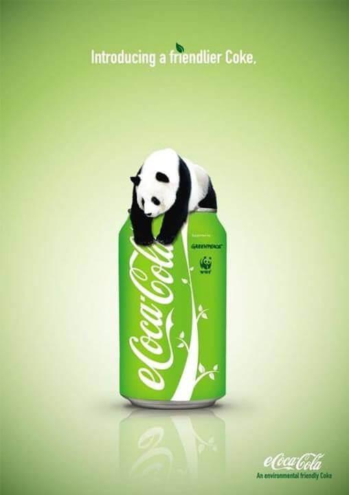 green marketing example coca cola