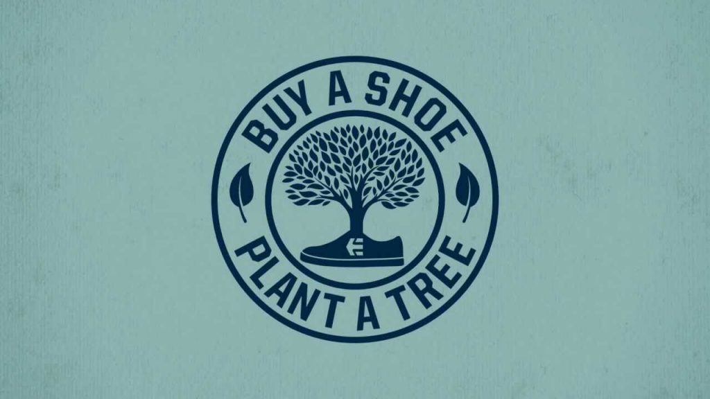 green marketing example etnies buy a shoe plant a tree